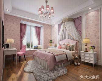60平米一居室美式风格儿童房欣赏图