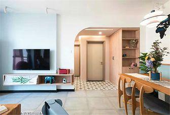 80平米三室两厅田园风格走廊装修图片大全