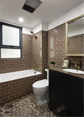 豪华型130平米四室一厅田园风格卫生间装修效果图