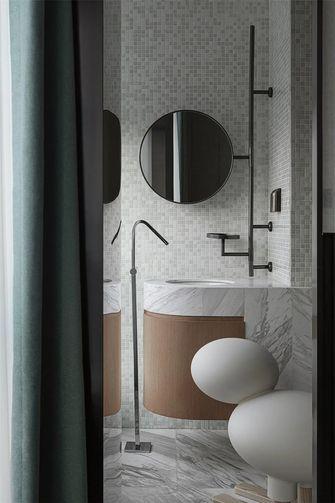 120平米三室一厅美式风格卫生间图片大全