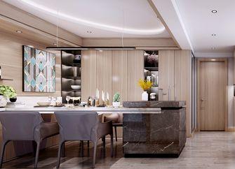 140平米四室一厅现代简约风格餐厅图