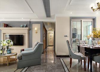 140平米三室两厅美式风格玄关门口欣赏图