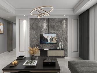 130平米四室两厅现代简约风格客厅装修效果图