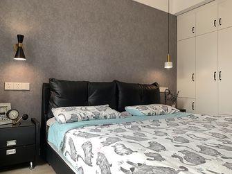 90平米三室两厅北欧风格卧室欣赏图