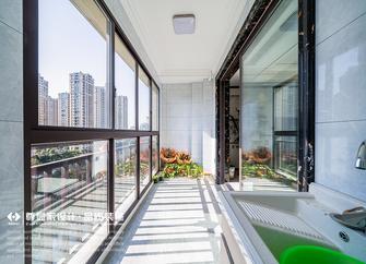 130平米三中式风格阳台设计图
