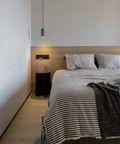 110平米三宜家风格卧室设计图