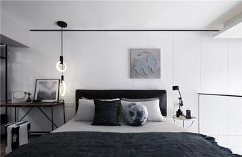 140平米复式英伦风格卧室图片