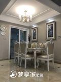 140平米四室四厅欧式风格餐厅图