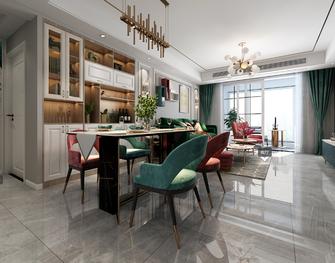 130平米四室两厅欧式风格餐厅装修案例