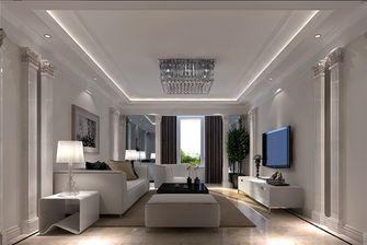 100平米一室一厅中式风格客厅图
