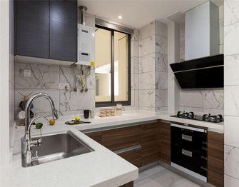 100平米三室两厅混搭风格厨房图片大全