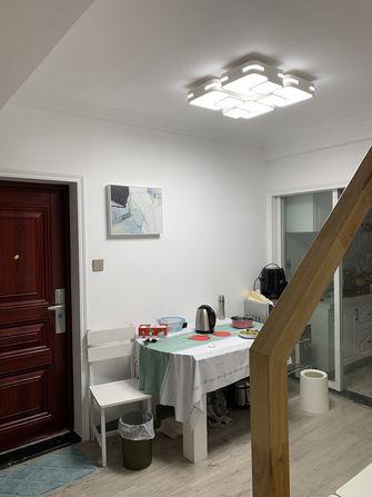 60平米三室一厅宜家风格餐厅图片
