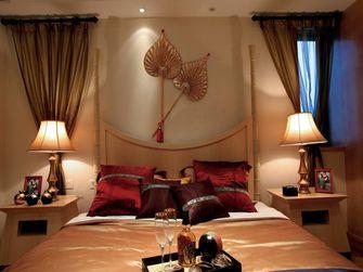 110平米三室一厅东南亚风格卧室装修图片大全