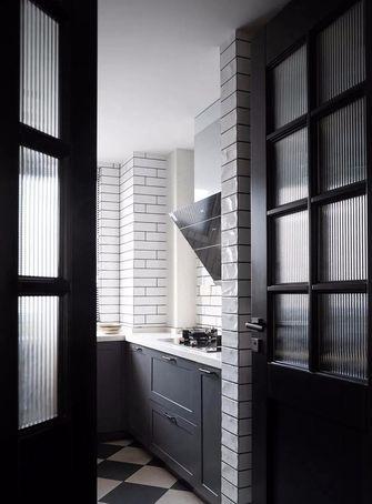 120平米三室两厅美式风格厨房设计图
