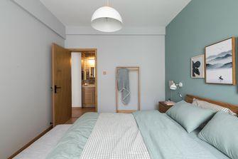 60平米一室一厅北欧风格卧室装修图片大全
