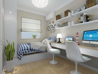 60平米现代简约风格儿童房橱柜图片大全