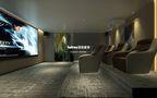 140平米复式北欧风格影音室图片
