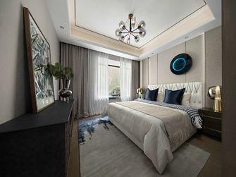 140平米四室四厅混搭风格卧室欣赏图