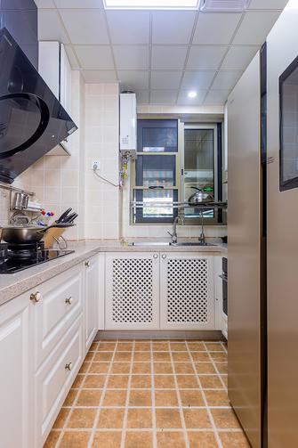 120平米田园风格厨房图片