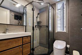 120平米四室一厅现代简约风格卫生间装修案例
