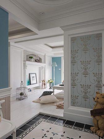 120平米三室两厅地中海风格玄关装修图片大全