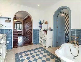 140平米三室两厅地中海风格玄关图片大全