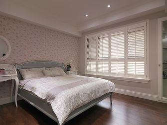 110平米三室两厅田园风格卧室装修图片大全