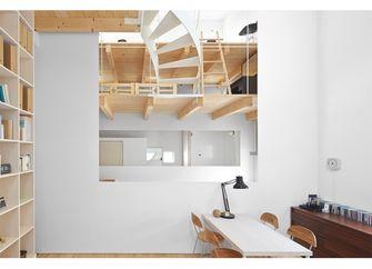 60平米公寓田园风格餐厅图