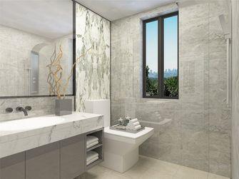 80平米现代简约风格卫生间背景墙装修图片大全