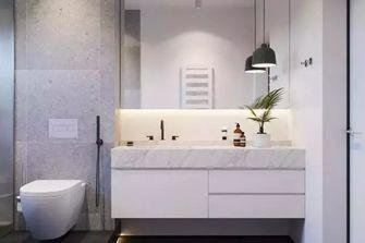 80平米公寓北欧风格卫生间图