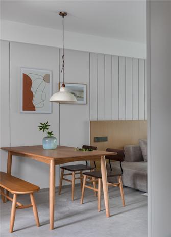 140平米三室两厅日式风格餐厅装修案例