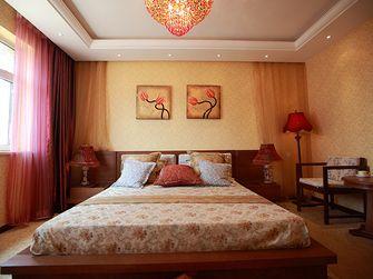 140平米三室一厅东南亚风格卧室装修案例