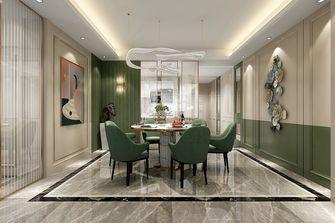 120平米三室三厅现代简约风格餐厅图片大全