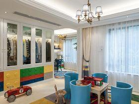140平米四室兩廳現代簡約風格衣帽間圖
