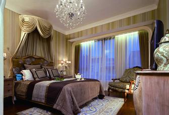 140平米复式法式风格卧室效果图