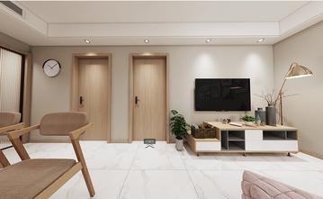 90平米田园风格客厅装修案例