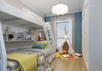 110平米中式风格儿童房效果图
