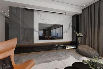 140平米三室四厅现代简约风格客厅图片