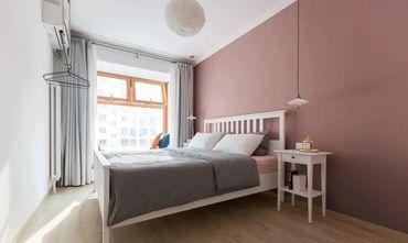 90平米北欧风格卧室图片