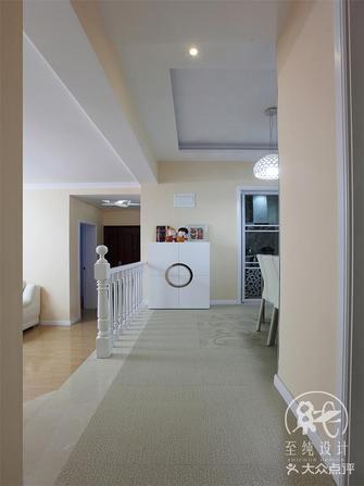 140平米三室一厅欧式风格走廊图片大全