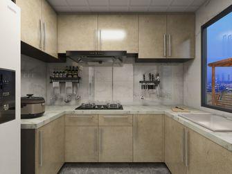 豪华型140平米三室一厅现代简约风格厨房装修效果图