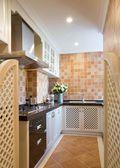 140平米三室两厅东南亚风格厨房图