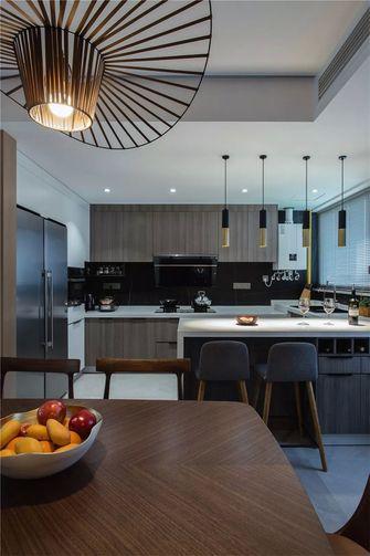 140平米三室两厅新古典风格厨房欣赏图