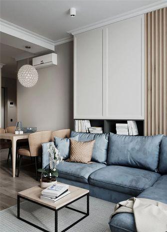 60平米宜家风格客厅装修图片大全