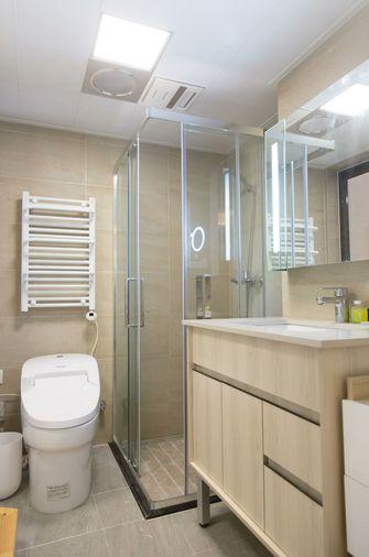70平米一室一厅混搭风格卫生间装修效果图