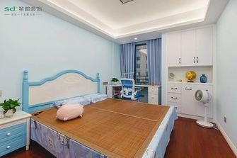 110平米三室两厅中式风格儿童房设计图
