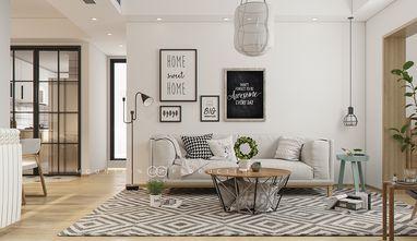 70平米三北欧风格客厅设计图