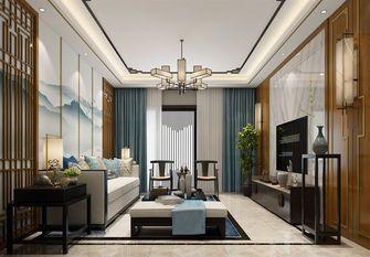 140平米三室两厅中式风格客厅图片