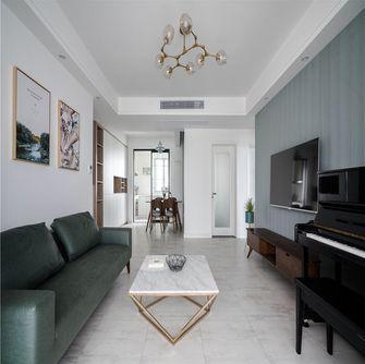 130平米三室两厅北欧风格客厅图片大全