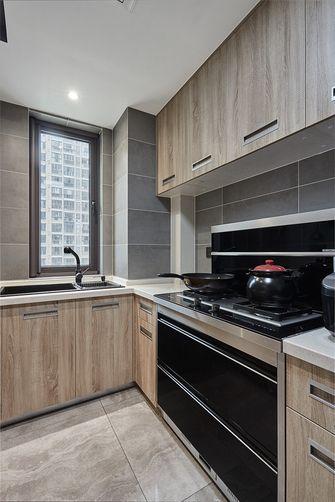 120平米三室两厅北欧风格厨房设计图